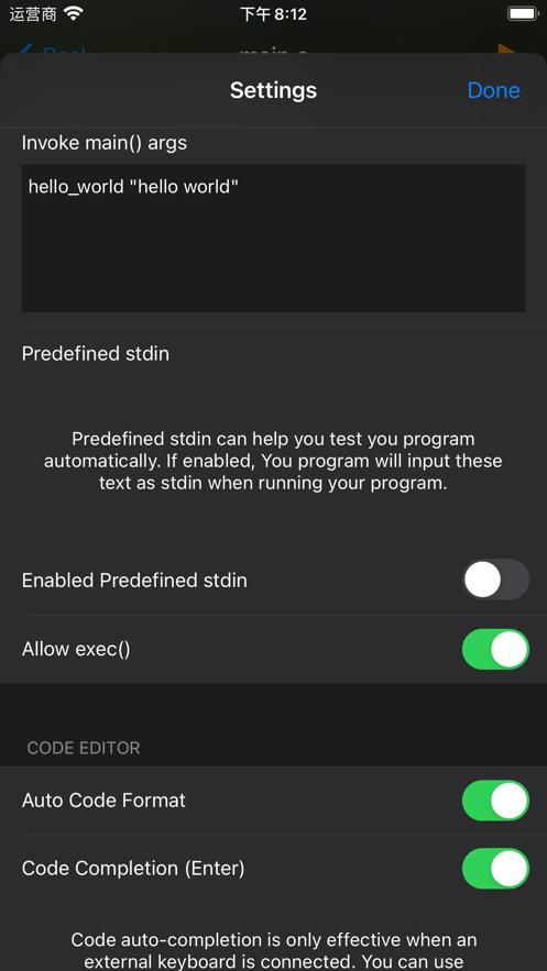 C Code Develop