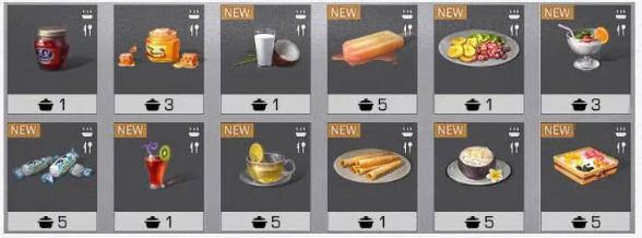 明日之后食谱大全最新2020 明日之后最全食谱做法及属性